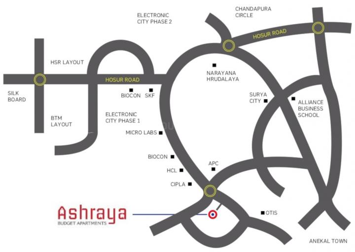 Project Image of 509.0 - 918.0 Sq.ft 1 BHK Apartment for buy in Pragna Ashraya