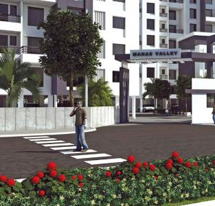 Project Image of 518.0 - 580.0 Sq.ft 2 BHK Apartment for buy in Balaji Manas Valley Phase 1