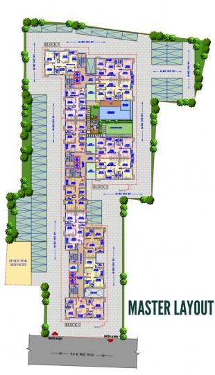 Project Image of 855.0 - 1204.0 Sq.ft 2 BHK Apartment for buy in Gurukul Heights