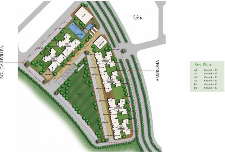 Project Image of 509.46 - 1016.87 Sq.ft 1 BHK Apartment for buy in Unitech Uniworld Gardens