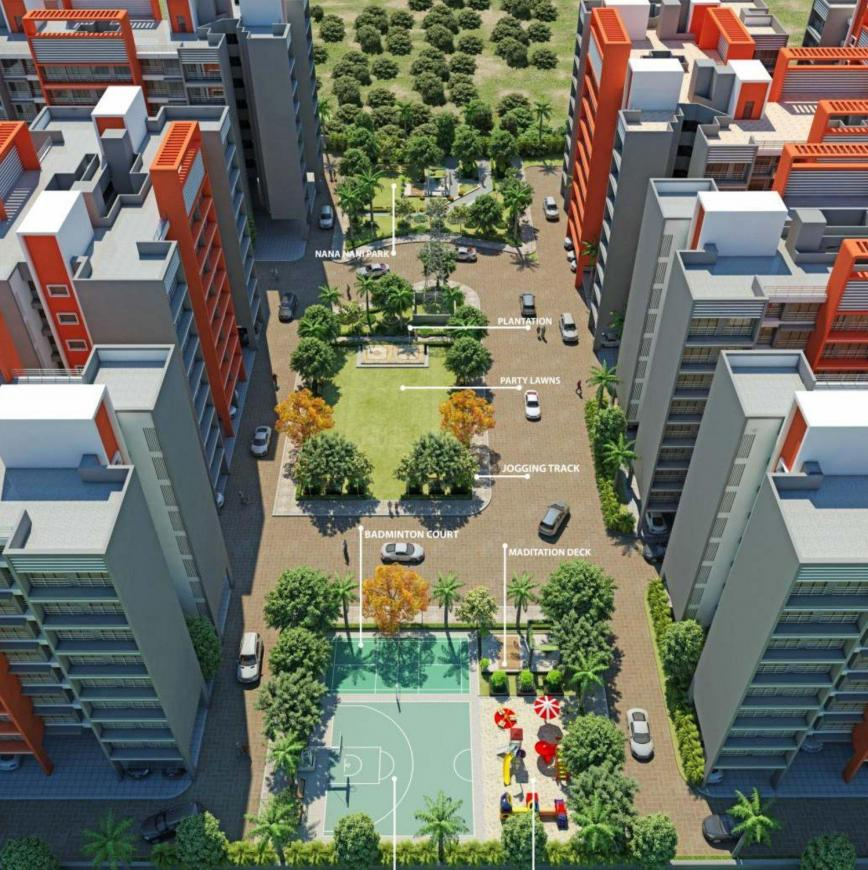Project Image of 630.0 - 920.0 Sq.ft 1 BHK Apartment for buy in Wellwisher Town