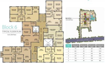 Project Image of 478.0 - 770.0 Sq.ft 2 BHK Apartment for buy in Bagaria Pravesh