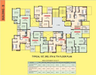 Project Image of 735.0 - 5893.0 Sq.ft 1 BHK Apartment for buy in Vaishnavi Home