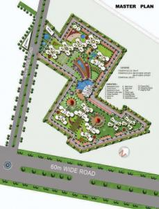 Gallery Cover Image of 1850 Sq.ft 3 BHK Apartment for rent in Sector 93 for 18000