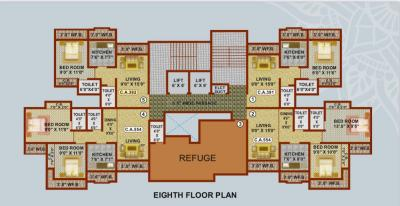 Project Image of 363.07 - 546.05 Sq.ft 1 BHK Apartment for buy in Shree Adeshwar Anand