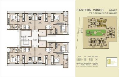 Project Image of 434.0 - 1120.0 Sq.ft 1 BHK Apartment for buy in Shree Krishna Eastern Winds