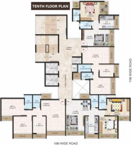 Project Image of 430.0 - 676.0 Sq.ft 1 BHK Apartment for buy in Emerald Prime