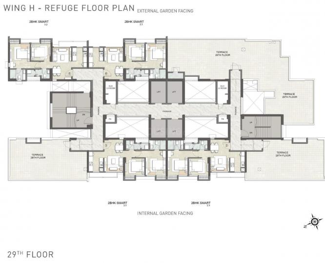 Project Image of 469.0 - 1561.0 Sq.ft 1 BHK Apartment for buy in Kalpataru Launch Code Starlight