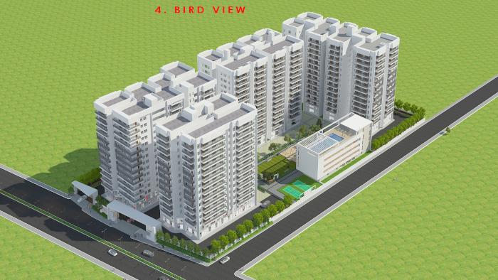 Project Image of 1553.0 - 2036.0 Sq.ft 3 BHK Apartment for buy in Aakriti Miro