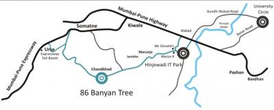 Residential Lands for Sale in Panchshil Realty 86 Banyan Tree