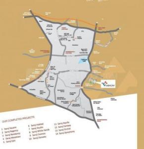 सरोज हार्मनी में खरीदने के लिए 1260.0 - 1690.0 Sq.ft 2 BHK अपार्टमेंट प्रोजेक्ट  की तस्वीर