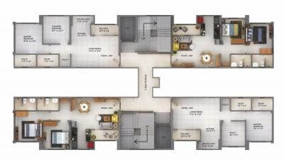 Project Image of 551.0 - 586.0 Sq.ft 2 BHK Apartment for buy in Sanas You57 Tower A