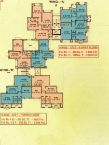 Project Image of 575 - 1850 Sq.ft 1 BHK Apartment for buy in Dattani Priti Vihar Leslie Villas