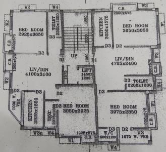 Project Image of 450.0 - 930.0 Sq.ft 1 BHK Apartment for buy in Nandy Avisha Apartment