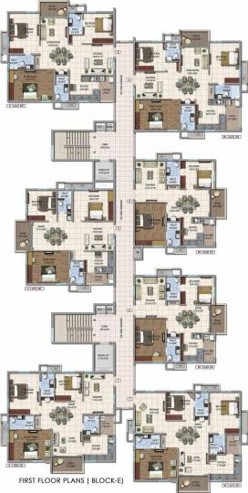 Project Image of 1500.0 - 1700.0 Sq.ft 3 BHK Apartment for buy in Aparna Hill Park Silver Oaks