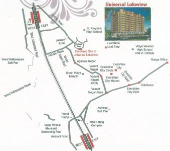 Project Image of 545.0 - 950.0 Sq.ft 1 BHK Apartment for buy in Trimurti Lakeview Apartment