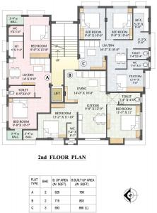 Project Image of 523.0 - 1135.0 Sq.ft 1 BHK Apartment for buy in Adwitya Towers Swagato Tower