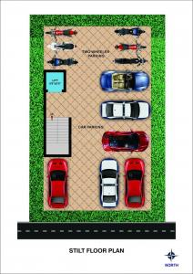Project Image of 430.0 - 928.0 Sq.ft 1 BHK Apartment for buy in Bharathi Sai Paradise