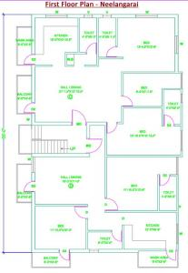Gallery Cover Image of 700 Sq.ft 2 BHK Independent House for buy in Revathy Neelangarai, Neelankarai for 12000000