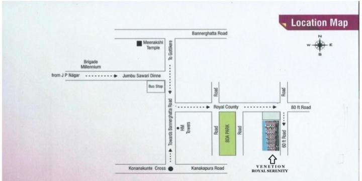 Project Image of 921.0 - 1150.0 Sq.ft 2 BHK Apartment for buy in Venetion Royal Serenity
