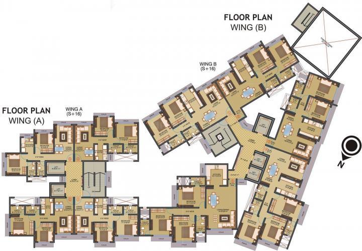 Project Image of 712.46 - 1002.5 Sq.ft 2 BHK Apartment for buy in Reliance Tilak Nagar Nisarg Co Op Hsg Soc Ltd