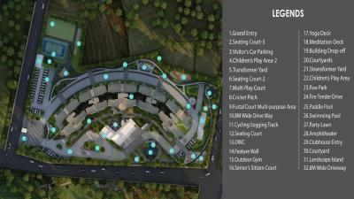 Gallery Cover Image of 1552 Sq.ft 3 BHK Apartment for buy in Godrej 24, Volagerekallahalli for 9000000
