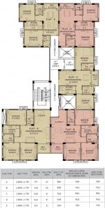 Project Image of 553.0 - 890.0 Sq.ft 2 BHK Apartment for buy in Adonis Life