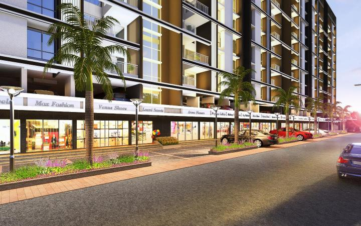 Project Image of 504.0 - 536.0 Sq.ft 2 BHK Apartment for buy in Sai Parktown