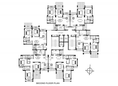 Gallery Cover Image of 2000 Sq.ft 3 BHK Apartment for rent in Godrej Anandam, Ganeshpeth Colony for 45000