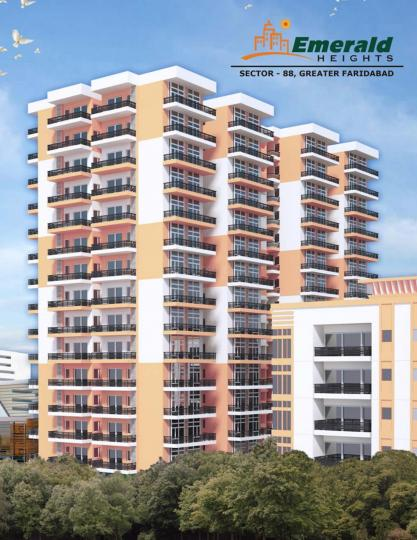 Project Image of 786.0 - 1310.0 Sq.ft 2 BHK Apartment for buy in Emerald Heights