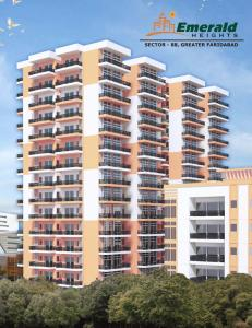 Gallery Cover Image of 1280 Sq.ft 2 BHK Apartment for rent in Emerald Heights, Sector 88 for 9000