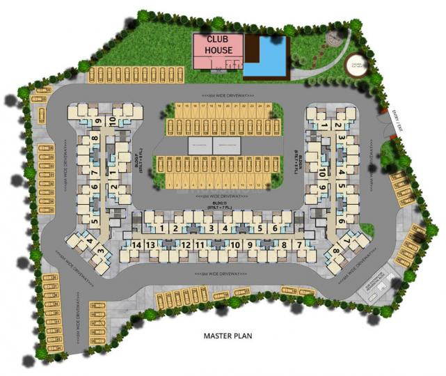 Project Image of 340.0 - 520.0 Sq.ft 1 BHK Apartment for buy in Arihant 4Anaika