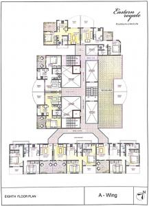 Project Image of 352.41 - 810.63 Sq.ft 1 BHK Apartment for buy in Eastern Royale
