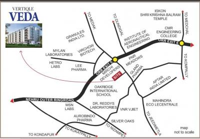 Project Image of 1199.96 - 1499.95 Sq.ft 2 BHK Apartment for buy in Vertiqle Veda