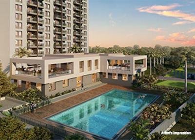 Project Image of 416.0 - 589.0 Sq.ft 1 BHK Apartment for buy in Kolte Patil Life Republic Sector R16 16th Avenue Arezo F Building