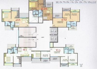 Project Image of 631 - 813 Sq.ft 1 BHK Apartment for buy in Sunshine Willow