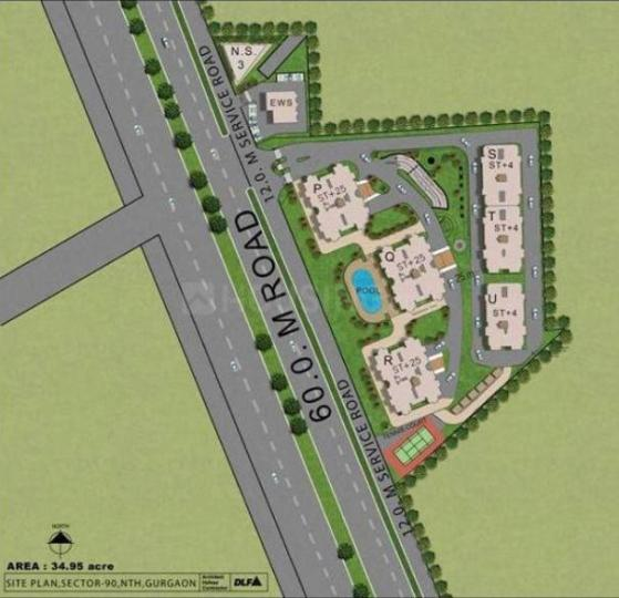 Project Image of 0 - 3380.0 Sq.ft 4 BHK Apartment for buy in DLF Select Homes