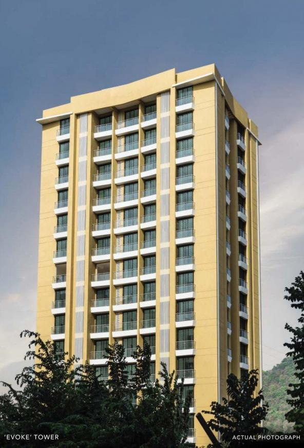 Project Image of 345.84 - 848.09 Sq.ft 1 BHK Apartment for buy in Arkade Art Phase 2