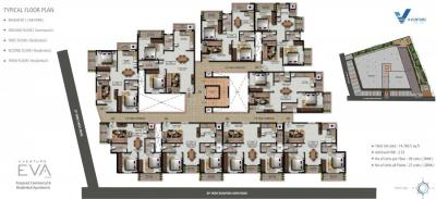 Project Image of 883.04 - 1164.89 Sq.ft 2 BHK Apartment for buy in V Venture EVA
