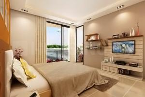 Gallery Cover Image of 2295 Sq.ft 3 BHK Apartment for buy in Classic Lake View Tower, Kankaria for 14025000