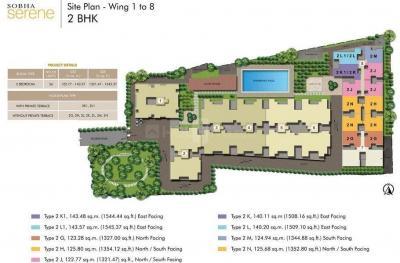 शोभा सेरेन में खरीदने के लिए 1316.0 - 1740.0 Sq.ft 2 BHK अपार्टमेंट प्रोजेक्ट  की तस्वीर