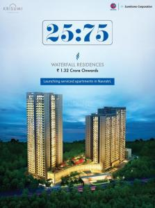 Project Image of 720.0 - 1325.0 Sq.ft 2 BHK Apartment for buy in Krisumi Waterfall Residences