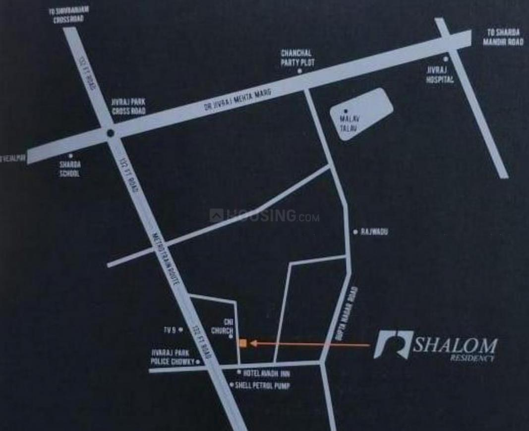Project Image of 611.61 - 803.1 Sq.ft 2 BHK Apartment for buy in Shalom Residency