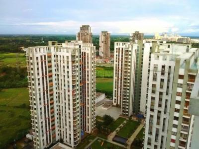 Gallery Cover Image of 1336 Sq.ft 3 BHK Apartment for rent in TATA Eden Court Primo, New Town for 22000