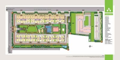 Gallery Cover Image of 1058 Sq.ft 3 BHK Apartment for buy in Gaurs Siddhartham , Siddharth Vihar for 4200000