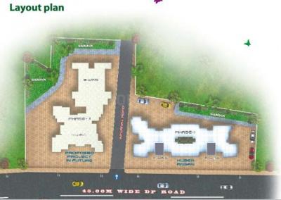 कुबेर आंगन फेज 2 में खरीदने के लिए 525.0 - 729.0 Sq.ft 1 BHK अपार्टमेंट प्रोजेक्ट  की तस्वीर
