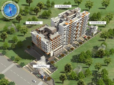 Project Image of 459 - 1313 Sq.ft 1 BHK Apartment for buy in Lunkad Akash Towers C And D