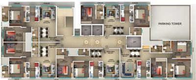Project Image of 572.21 - 860.25 Sq.ft 2 BHK Apartment for buy in Seema Rajdhani