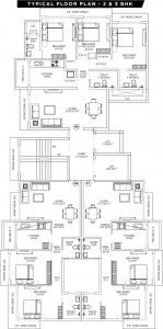 Project Image of 707.73 - 943.56 Sq.ft 2 BHK Apartment for buy in UK Sangfroid