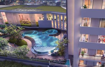 Gallery Cover Image of 1415 Sq.ft 2 BHK Apartment for buy in M3M Skywalk, Sector 74 for 9500000